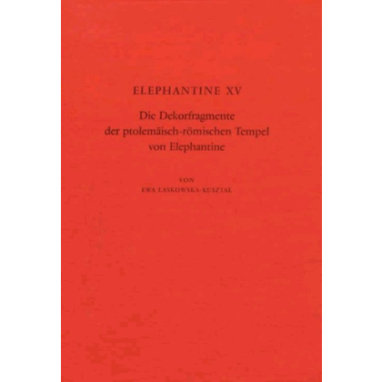 Die Dekorfragmente der ptolemäisch römischen Tempel von Elephantine