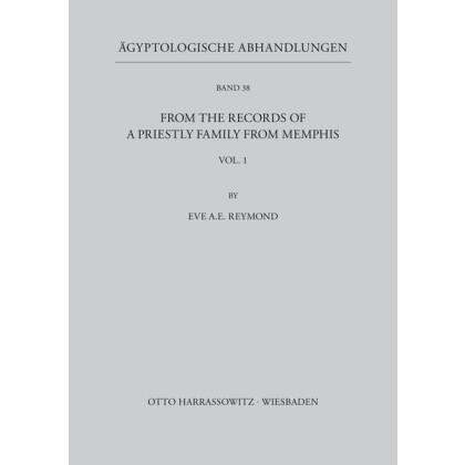 Ägyptologische Abhandlungen, Band 38