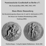 Die Brandenburgischen Denare des 13. und 14. Jahrhunderts...