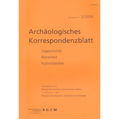 Archäologisches Korrespondenzblatt 2009/2
