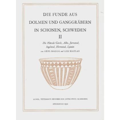 Die Funde aus den Dolmen und Ganggräbern in Schonen Schweden - Teil 2
