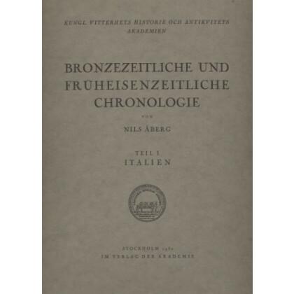 Bronzezeitliche und Früheisenzeitliche Chronologie - Italien