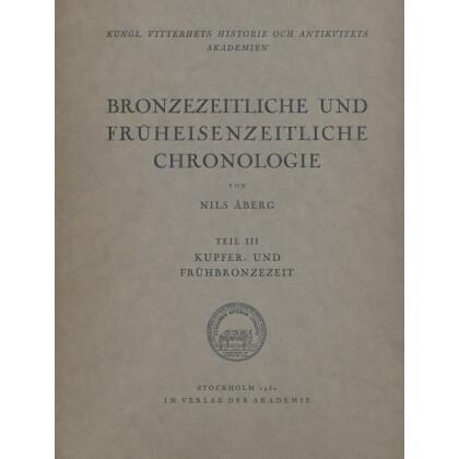 Bronzezeitliche und Früheisenzeitliche Chronologie - Kupfer und Frühbornzezeit
