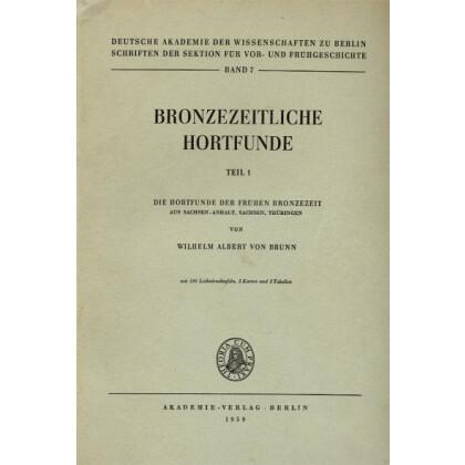 Die Hortfunde der Frühen Bronzezeit aus Sachsen-Anhalt, Sachsen und Thüringen