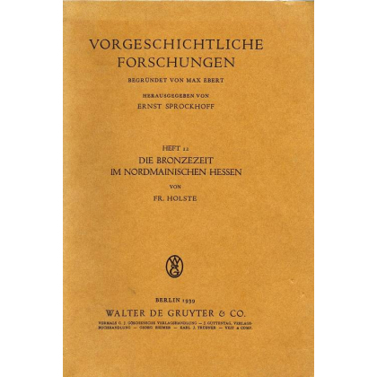 Die Bronzezeit im Nordmainischen Hessen