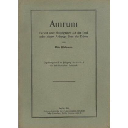 Amrum - Bericht über Hügelgräber auf der Insel nebst einen Anhange