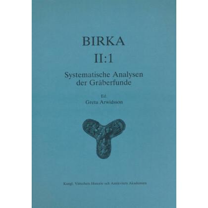 Birka II:1. Systematische Analysen der Gräberfunde
