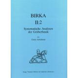 Birka II:2. Systematische Analysen der Gräberfunde