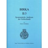 Birka II:3. Systematische Analysen der Gräberfunde
