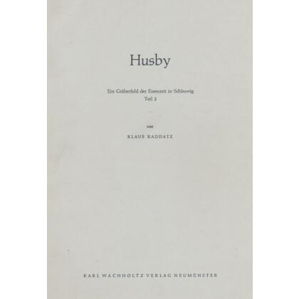 Husby - Ein Gräberfeld der Eisenzeit in Schleswig. Teil II, Katalog