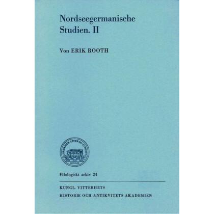 Nordseegermanische Studien II