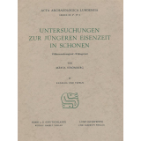 Untersuchungen zur jüngeren Eisenzeit in Schonen. Völkerwanderungszeit - Wikingerzeit