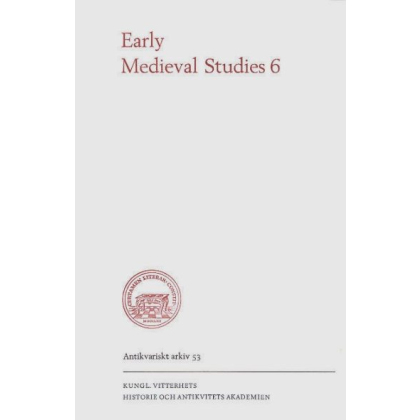 Early Medieval Studies 6
