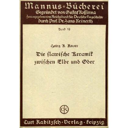 Die slawische Keramik zwischen Elbe und Oder. Einteilung und Zeitansetzung auf Grund der Münzgefäße