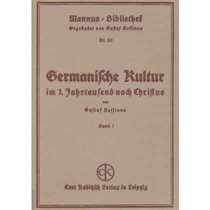 Germanische Kultur im 1. Jahrtausend nach Christus