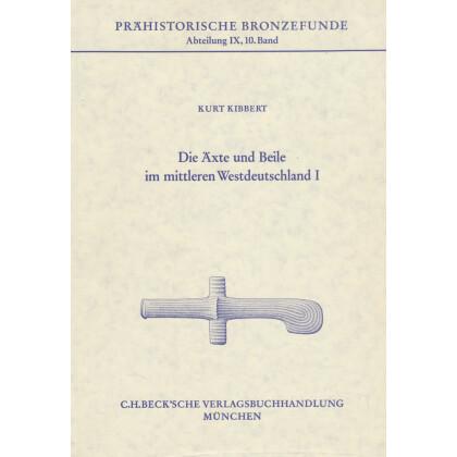Die Äxte und Beile im mittleren Westdeutschland