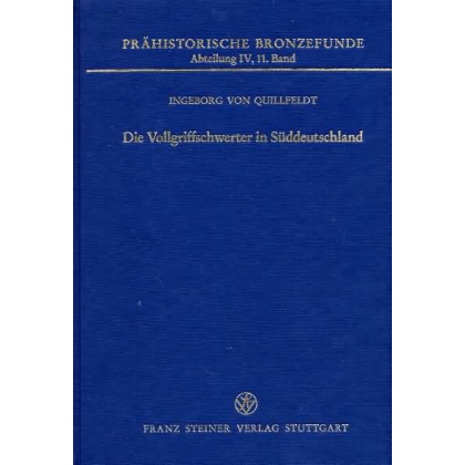 Die Vollgriffschwerter in Süddeutschland