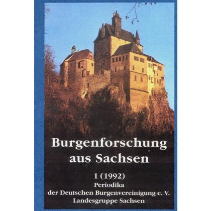 Burgenforschung aus Sachsen, Band 1