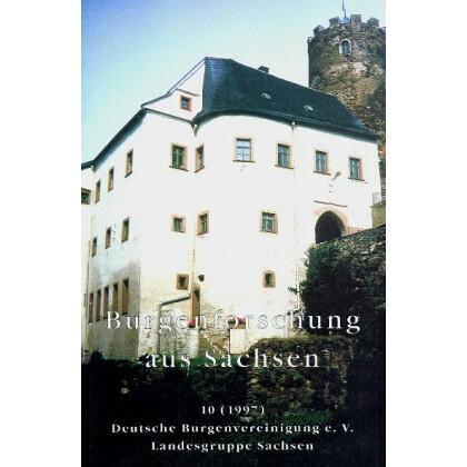Burgenforschung aus Sachsen, Band 10