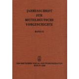 Jahresschrift für mitteldeutsche Vorgeschichte Band 72