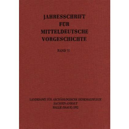 Jahresschrift für mitteldeutsche Vorgeschichte Band 75. Bodenfunde von Münzen des 10. bis zum Anfang des 12. Jahrhunderts