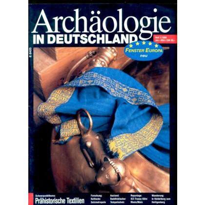 Archäologie in Deutschland. Heft 1998/1