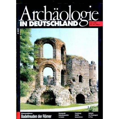 Archäologie in Deutschland. Heft 1996/4