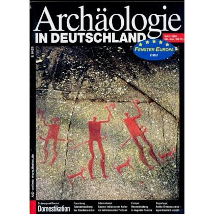 Archäologie in Deutschland. Heft 1998/4