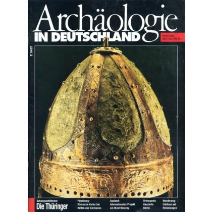 Archäologie in Deutschland. Heft 1996/2 Schwerpunktthema: Die Thüringer