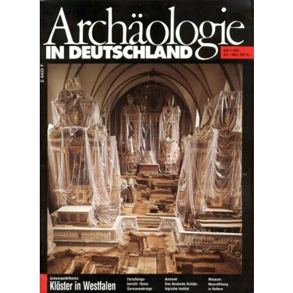 Archäologie in Deutschland. Heft 1994/1. Roms Germanenkriege