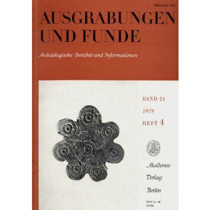 Ausgrabungen und Funde, Band 24 - 1979 Heft 4