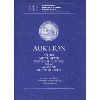Antike, Mittelalter, Deutsche Münzen (Sachsen) Ausland Reichsmünzen