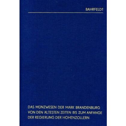 Das Münzwesen der Mark Brandenburg, Teil 2