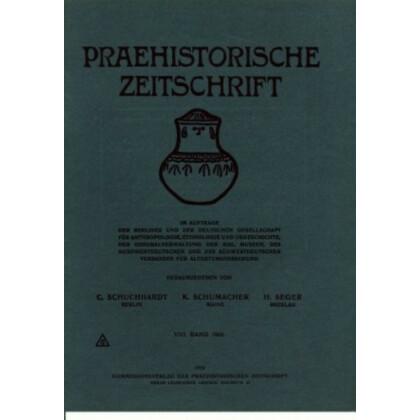 Prähistorische Zeitschrift, VII. Band 1915, 1/2. Heft