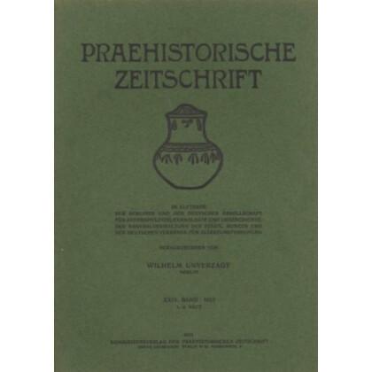 Prähistorische Zeitschrift, XXV. Band 1934, 1/2. Heft. Keltische Bronzebeschläge