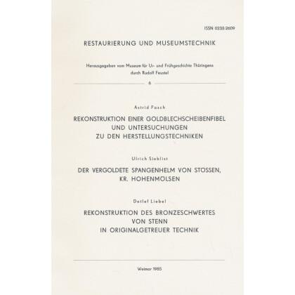 Rekonstruktion einer Goldblechscheibenfibel - Restaurierung und Museumstechnik 6