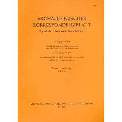 Archäologisches Korrespondenzblatt 1985/2