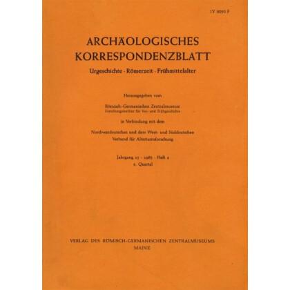 Archäologisches Korrespondenzblatt 1985/4