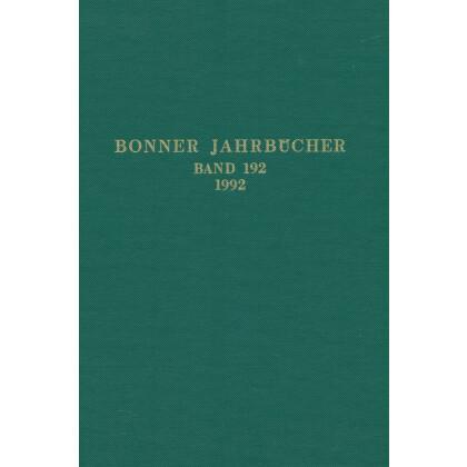 Bonner Jahrbücher Band 192 - 1992