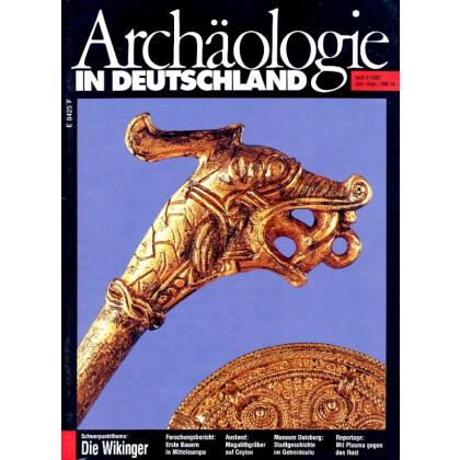 Archäologie in Deutschland. Heft 1992/3