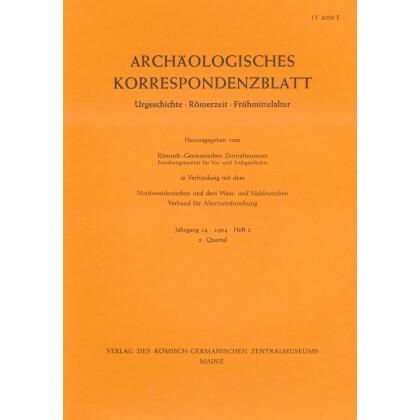 Archäologisches Korrespondenzblatt 1994/2