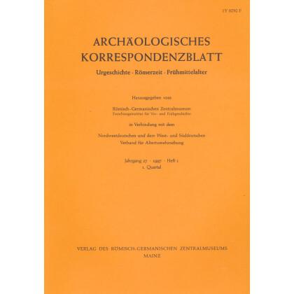 Archäologisches Korrespondenzblatt 1997/1