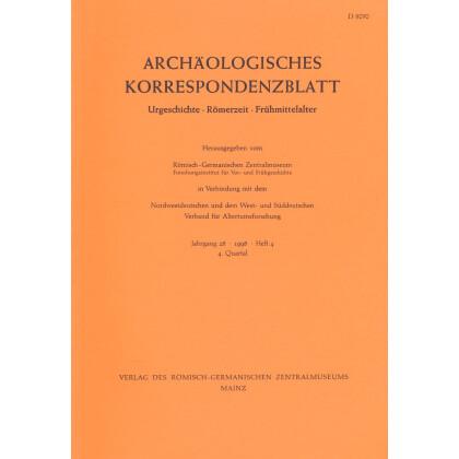 Archäologisches Korrespondenzblatt 1998/4