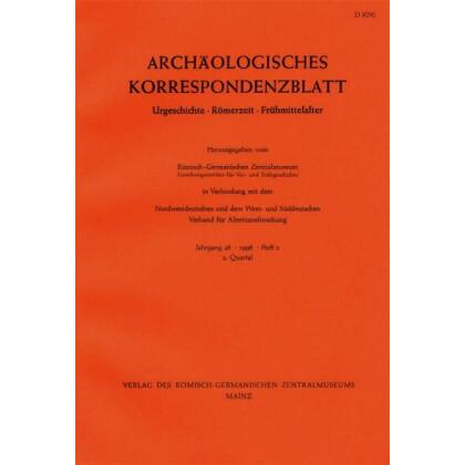 Archäologisches Korrespondenzblatt 1999/1