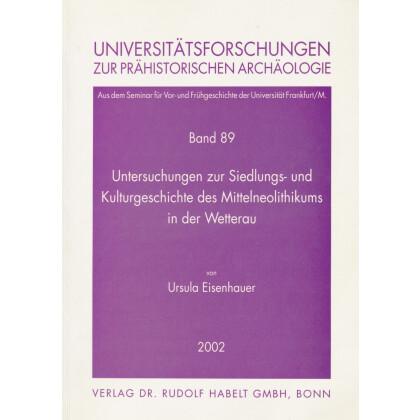 Untersuchungen zur Siedlungs- und Kulturgeschichte