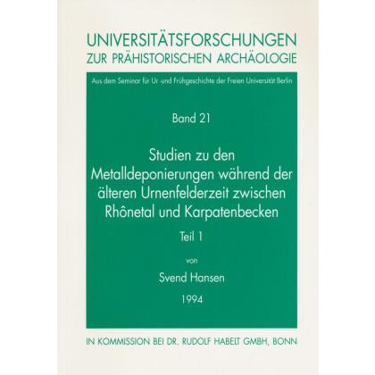 Studien zu den Metalldeponierungen während der älteren Urnenfelderzeit
