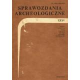 Sprawozdania Archeologiczne, Vol. XXXV