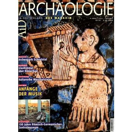 Archäologie in Deutschland. Heft 2002/4 - Anfänge der Musik