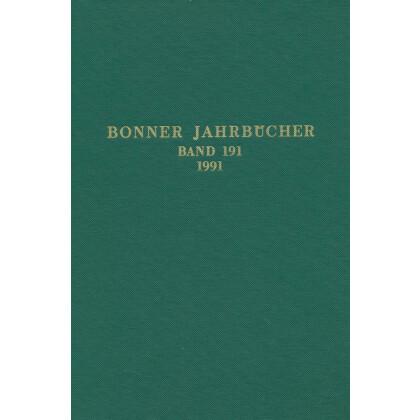 Bonner Jahrbücher Band 191 - 1991