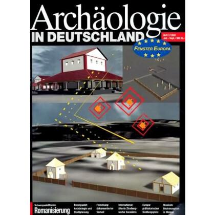 Archäologie in Deutschland. Heft 2001/3